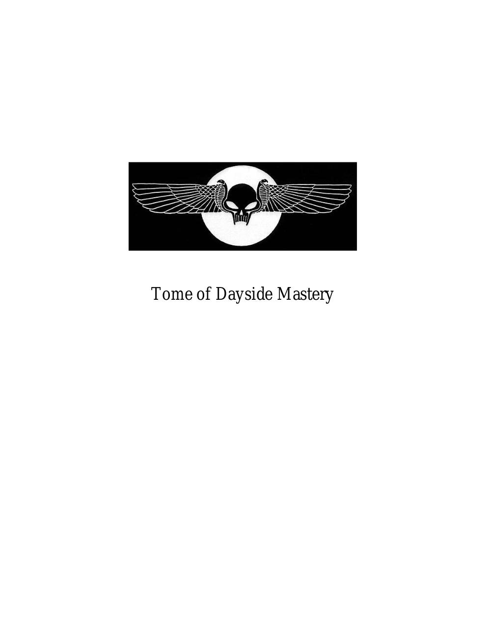 12 - Tome of Dayside Mastery.pdf - page 1/234