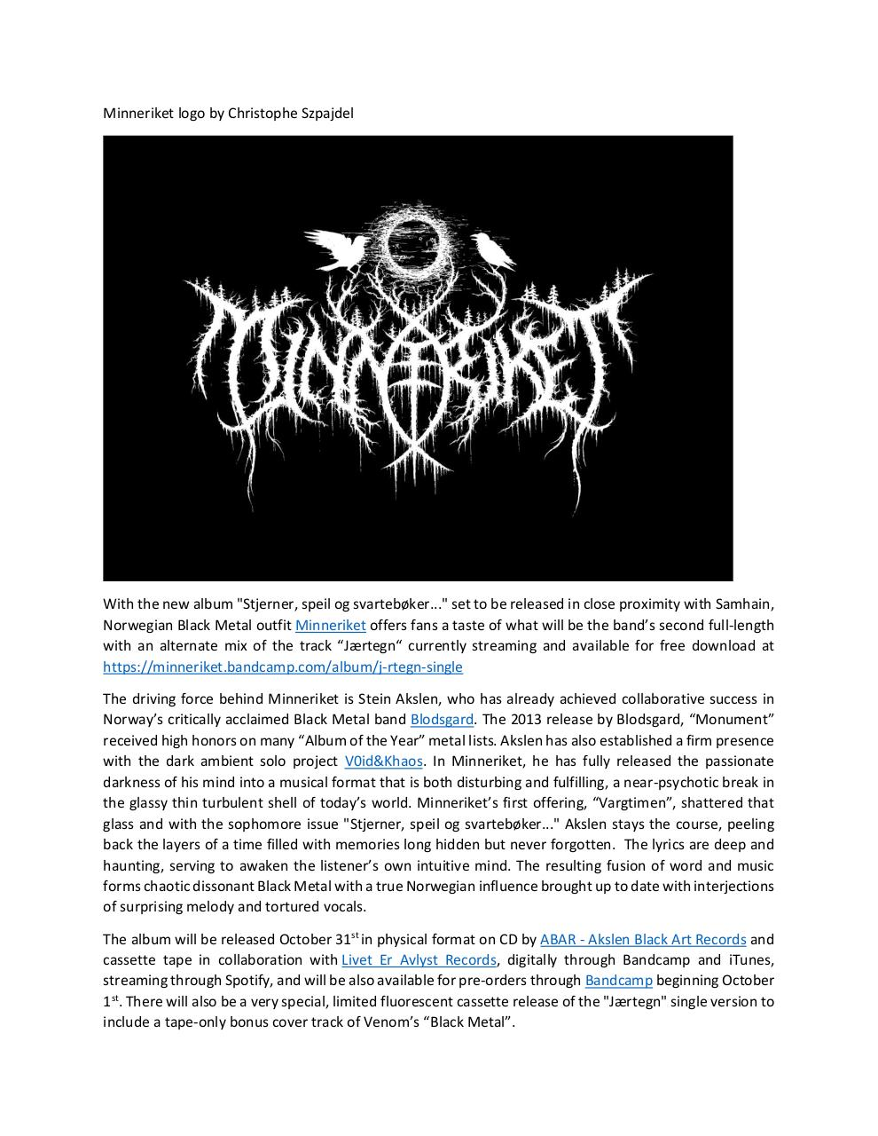 Document preview Minneriket Press Release.pdf - page 2/4