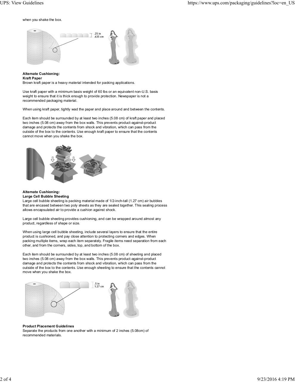 Document preview UPS_ View Guidelines.pdf - page 2/4