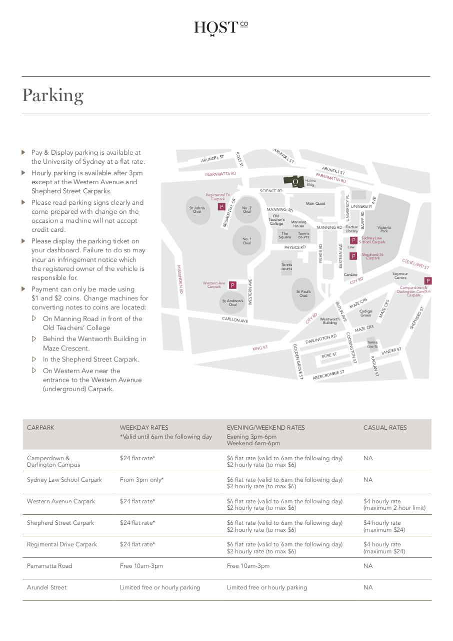 Document preview HCS332 HOSTCO PARKING & DIRECTIONS_9.pdf - page 2/2