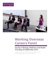 working overseas careers panel 29 9 16 2
