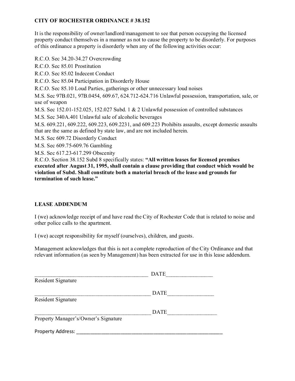 Document preview CRIME FREE LEASE ADDENDUM 2015 (1).pdf - page 2/2