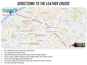 directions to the leather cruise