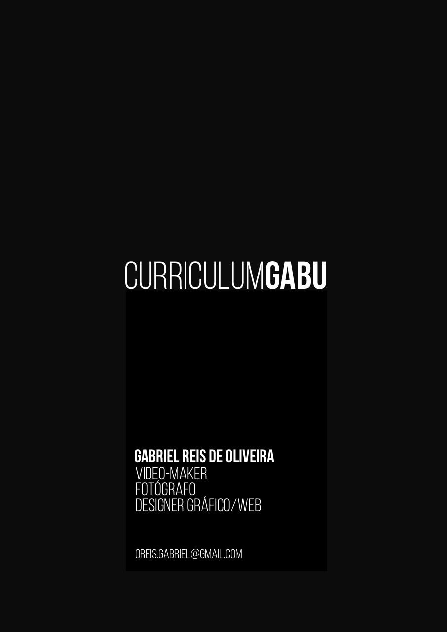 Document preview curriculo Gabriel Reis .pdf - page 1/4