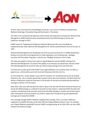 adventist sharp aon transition