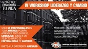 iv workshop de liderazgo y cambio