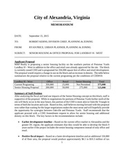 landbay h land use recommendation memo