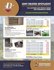 edm adp unit heater promo fall 2016