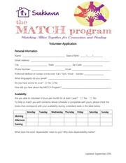 PDF Document volunteer application pdf