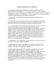 PDF Document waiver