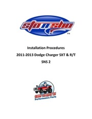 license plate instructions sns 2 2011 2014 dodge charger