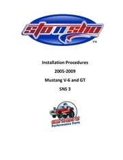 license plate instructions sns 3 2005 2009 mustang v6 gt