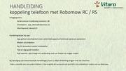 koppeling telefoon met robomow instructie