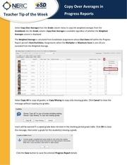 PDF Document teacher tip pr copy over averages