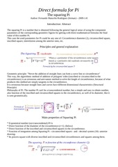 PDF Document squaring pi