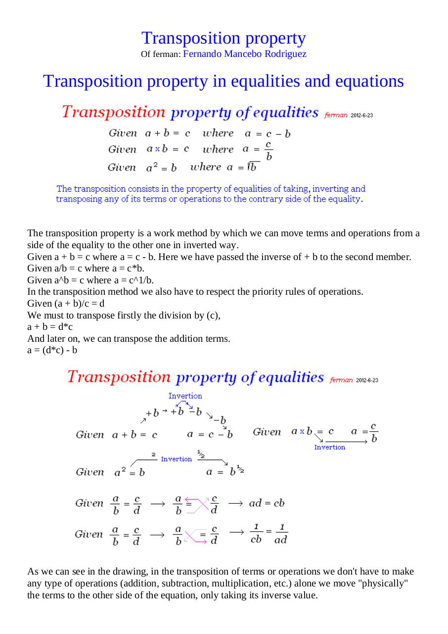Document preview Transposition property.pdf - page 1/2
