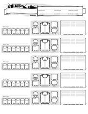 PDF Document minions sheet
