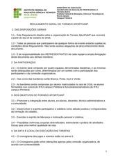 regulamento torneio sportcanp