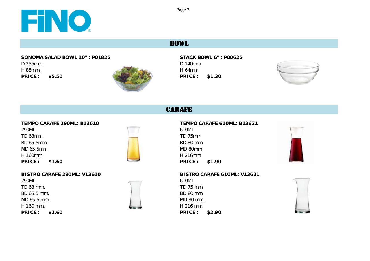 Price List OCEAN GLASS.pdf - page 2/10