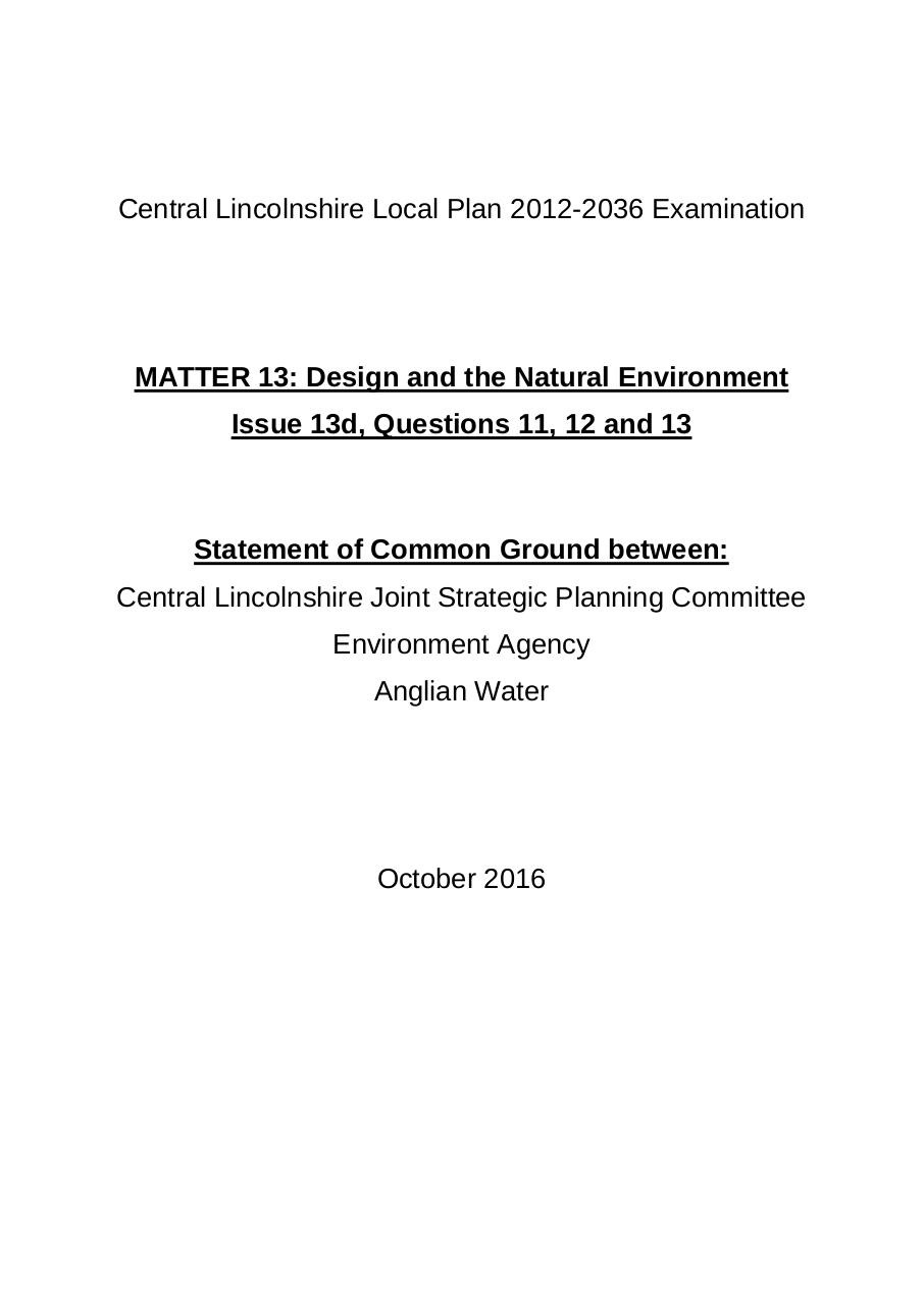 Document preview Statement of Common Ground - FINAL -AW + EA signed.pdf - page 1/3