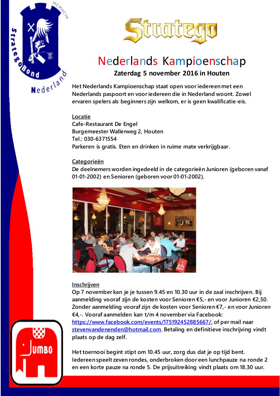 Document preview Uitnodiging NK Houten 2016.pdf - page 1/2