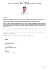 ufuk akkaya summary and resume