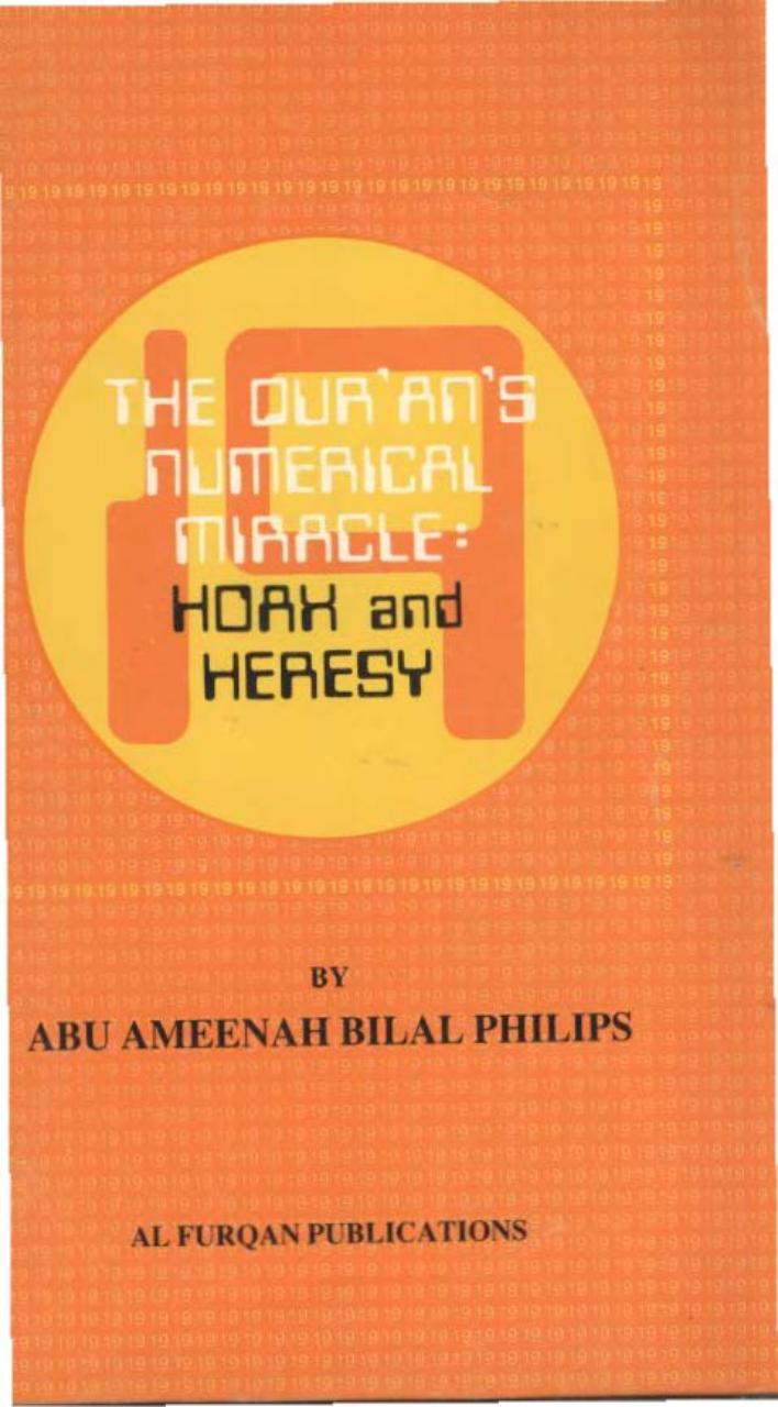 The Qurans Numerical Miracle; Hoax And Heresy.pdf - page 1/76