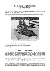 PDF Document le meurtre de sharon tate a ete simule