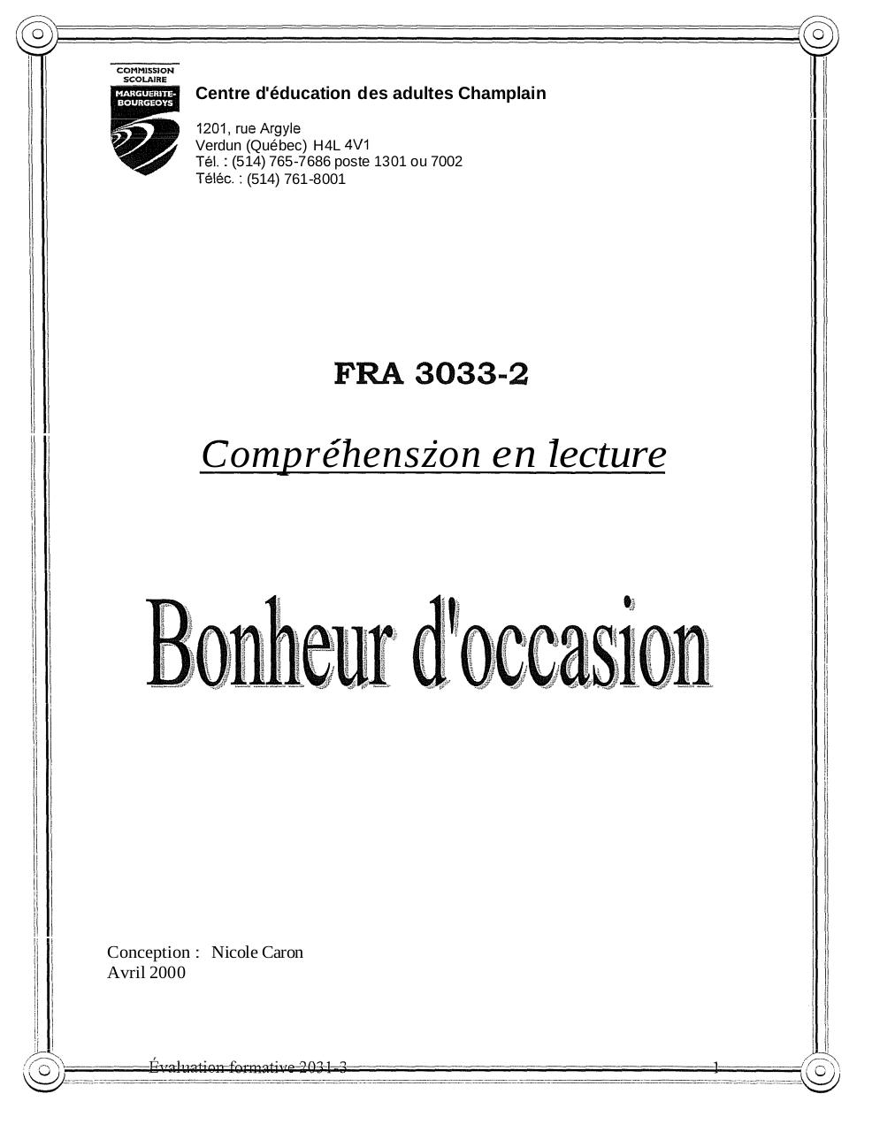 FRA-3033 - Exercice supplémentaire.pdf - page 1/11