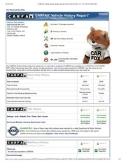 carfax 2002 volvo s40
