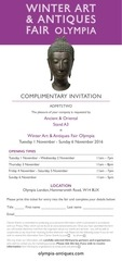 olympia invitation ancient oriental