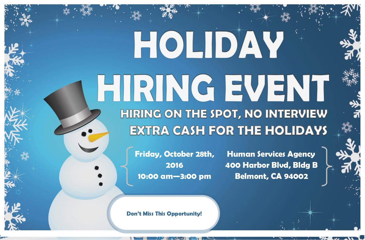 Mailer Holiday Hiring Event Postcard.pdf - page 1/2