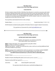 PDF Document concession and after party form 2016