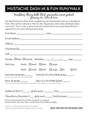 registration form waiver