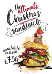 chistmas sandwichlast