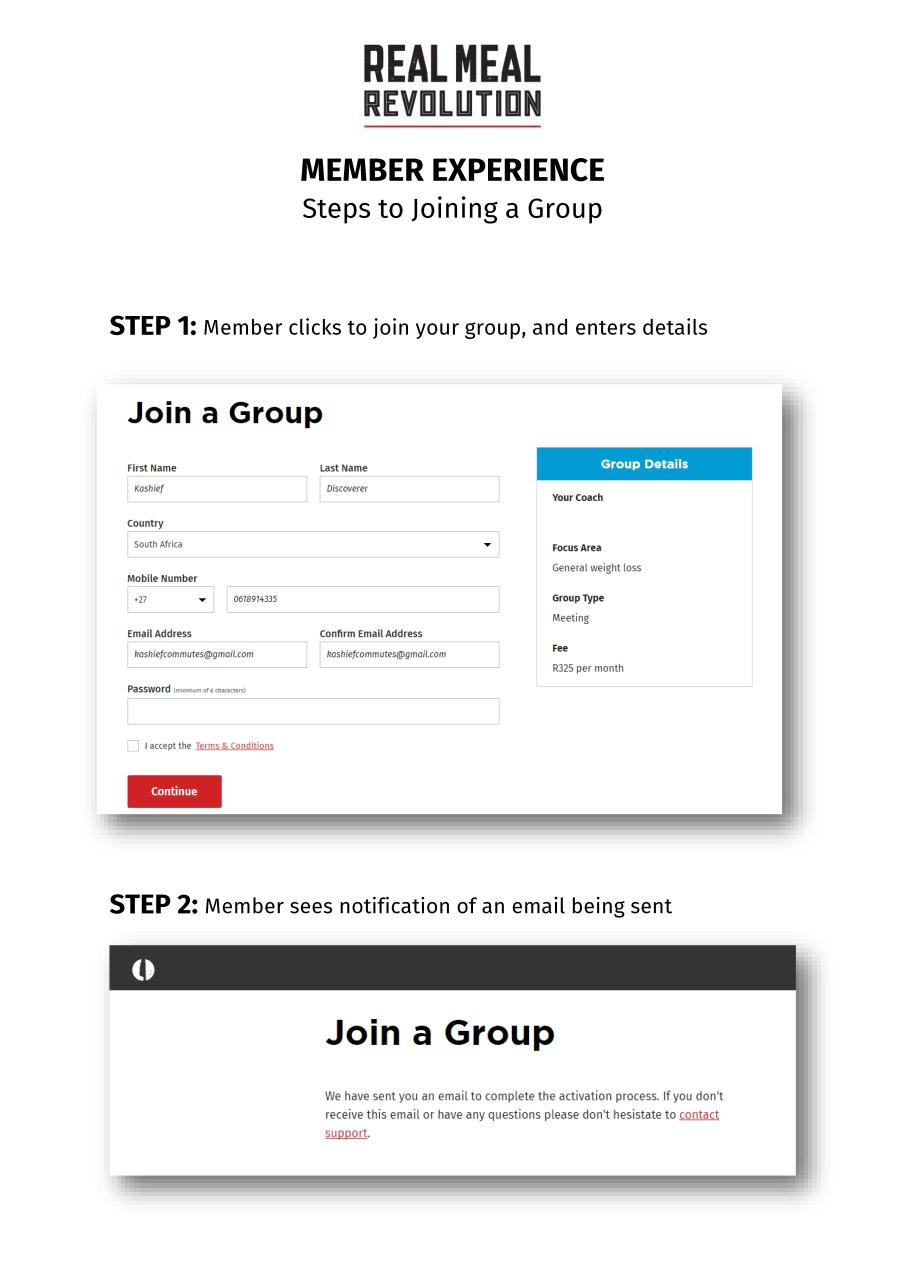 MEMBER EXPERIENCE - Joining a Group.pdf - page 1/5