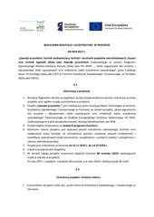 PDF Document regulamin