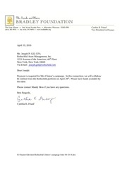 rothschild clinton s campaign letter 04 19 16