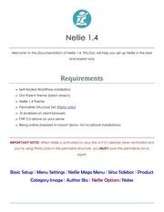 documentation nellie 1 4