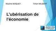 uberisation de l economie boquet wilbert