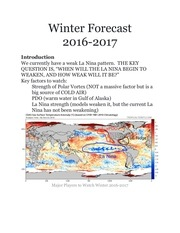 winter forecast 2016 2017