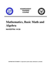basic math and algebra