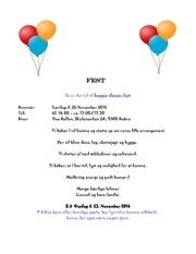 fest invitation
