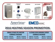 heating package fall promotion 2016