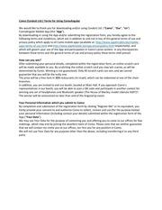 PDF Document legal app