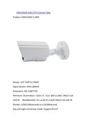 PDF Document cm413ahd ahd cctv camera 720p