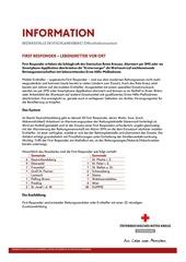 PDF Document information first responder