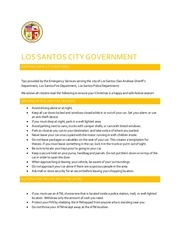 los santos city government