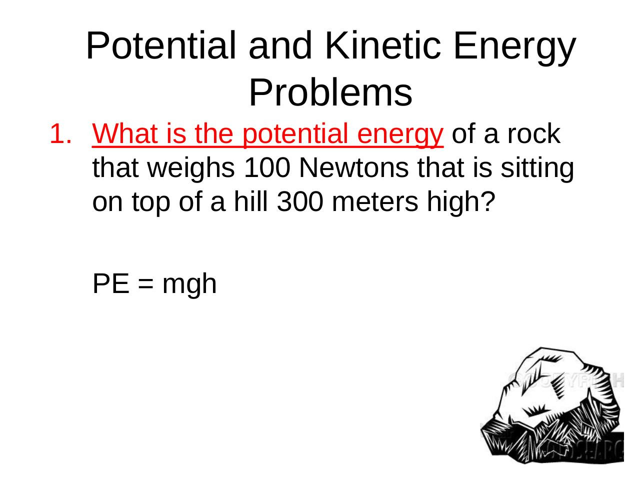 03b_Potential_and_Kinetic_Energy_Problems_SS_Key.pdf - page 2/13