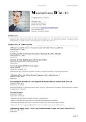 PDF Document cv massimiliano d aiuto